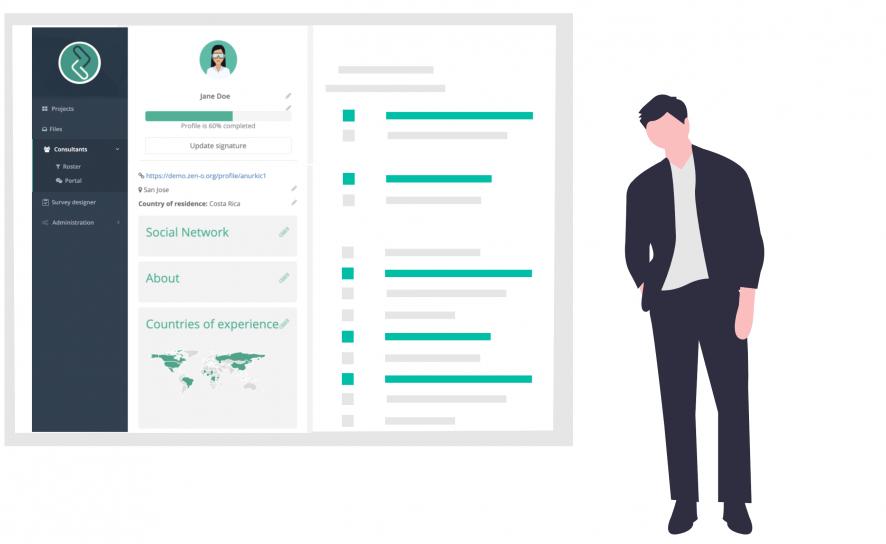 Consultant CV on Zen-O Consultants
